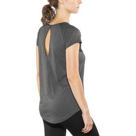 Craft Eaze SS Shirt Dam black melange